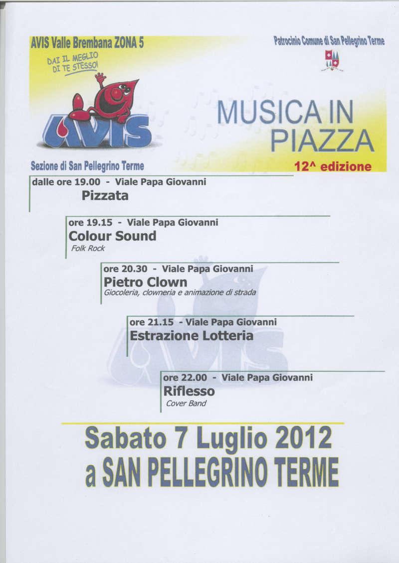 MUSICA IN PIAZZA 12^ edizione