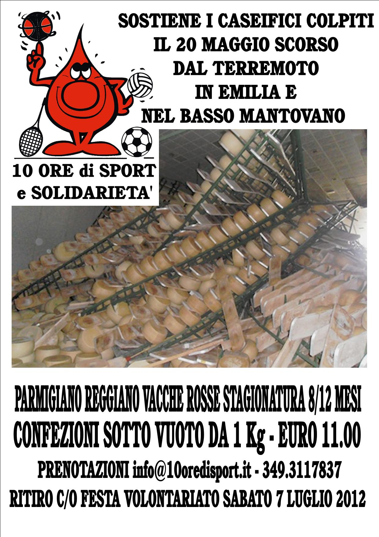 Aiutiamo i Caseifici del Parmigiano Reggiano