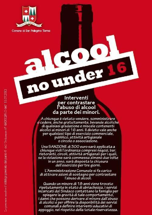 ORDINANZA NR. 49/2012/R.O. - Abuso alcol