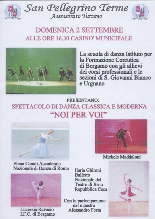 Spettacolo di Danza Classica e Moderna 'NOI PER VOI'