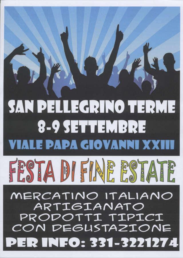 FESTA DI FINE ESTATE-mercatino italiano artigianale prodotti tipici con degustazione