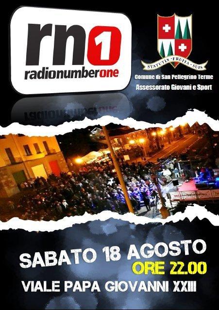 San Pellegrino in Festa con Radio Numberone
