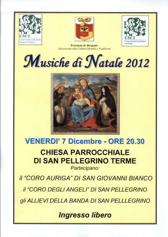 MUSICHE DI NATALE 2012