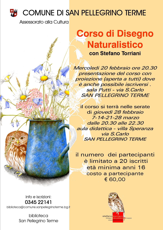 Corso di Disegno Naturalistico con Stefano Torriani