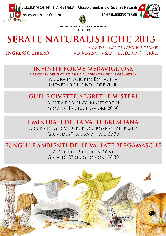 SERATE NATURALISTICHE 2013