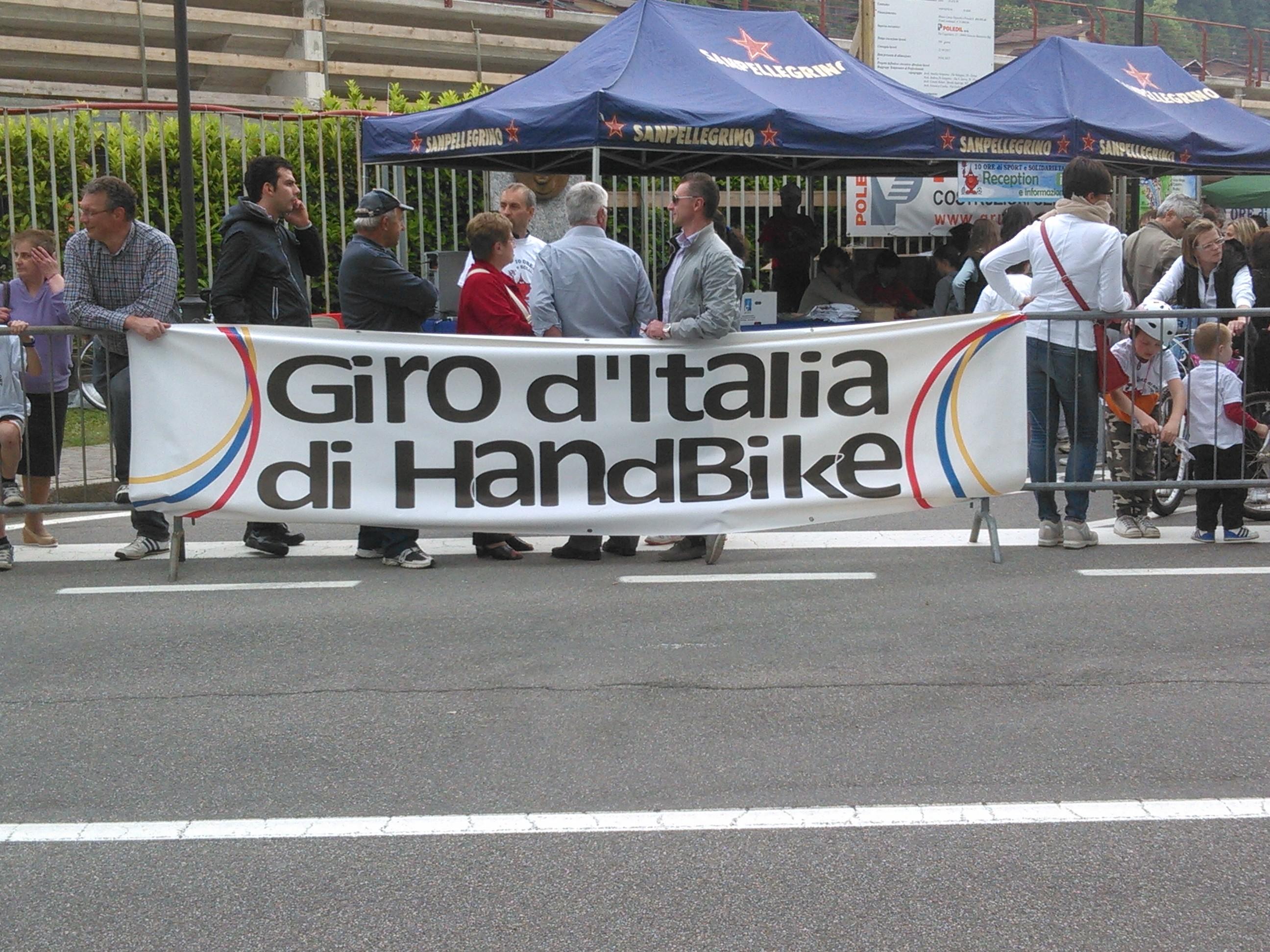 Giro d'Italia #Handbike - 1.06.2013 - Video