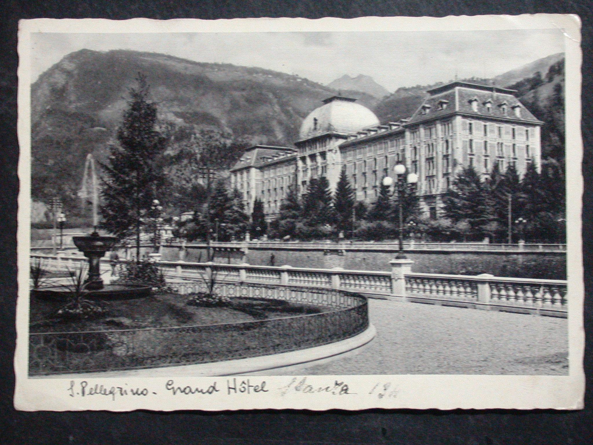 GRAND HOTEL il restauro dell'edificio simbolo di San Pellegrino Terme