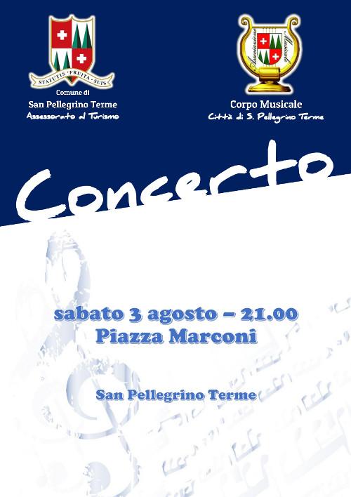 Concerto Corpo Musicale in Piazza Marconi