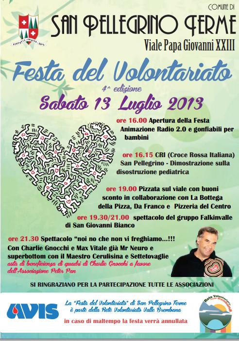 Festa del Volontariato - 4^ Edizione