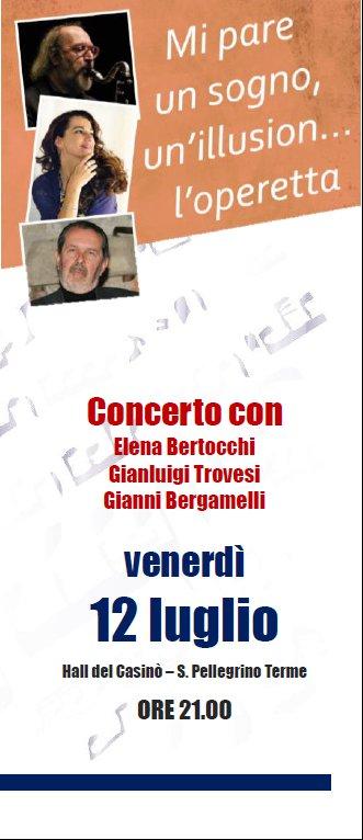 Mi pare un sogno, un'illusion... L'operetta - Concerto con G. Trovesi