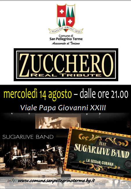 Zucchero Real Tribute - Concerto Sugarlive Band