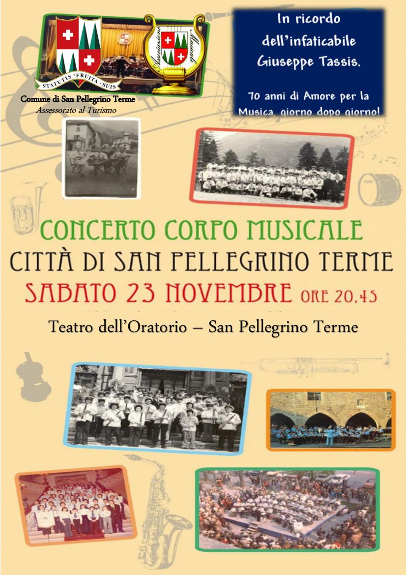 Concerto Corpo Musicale - Ricordo di Giuseppe Tassis