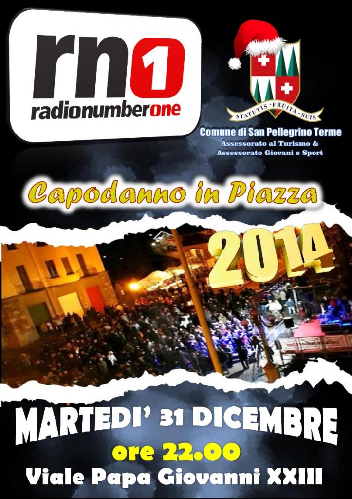 Capodanno in Piazza 2014 con Radio NumberOne