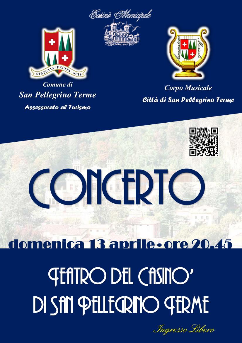 """Concerto Corpo Musicale """"Città di San Pellegrino Terme"""""""