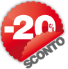Sconto del 20% per i residenti (valido sul biglietto di ingresso)