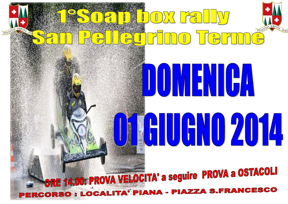 Soap Box Rally San Pellegrino Racing