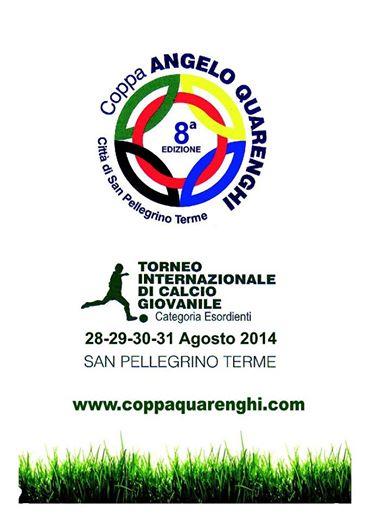 """8° edizione Torneo Internazionale di calcio giovanile Coppa """"ANGELO QUARENGHI"""""""