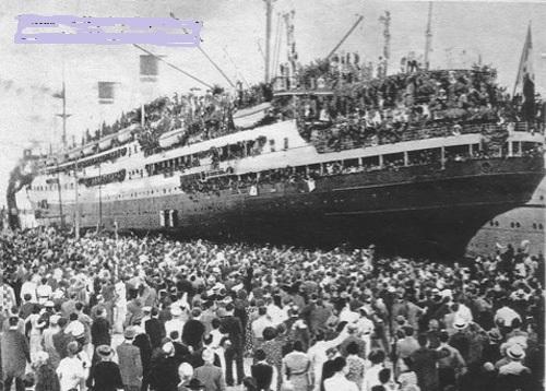 21 novembre 1939. Partiti per l'Africa, destinazione Etiopia