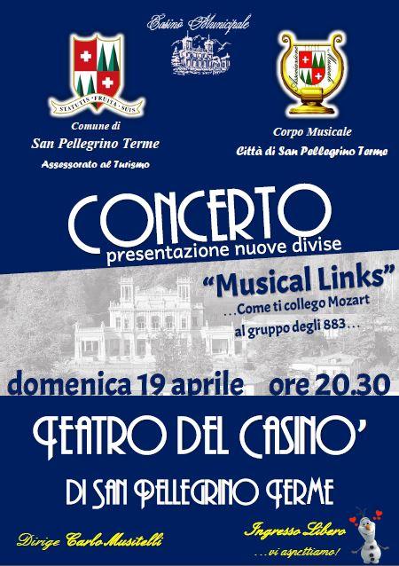 Concerto al Casinò - Corpo Musicale Città di San Pellegrino Terme
