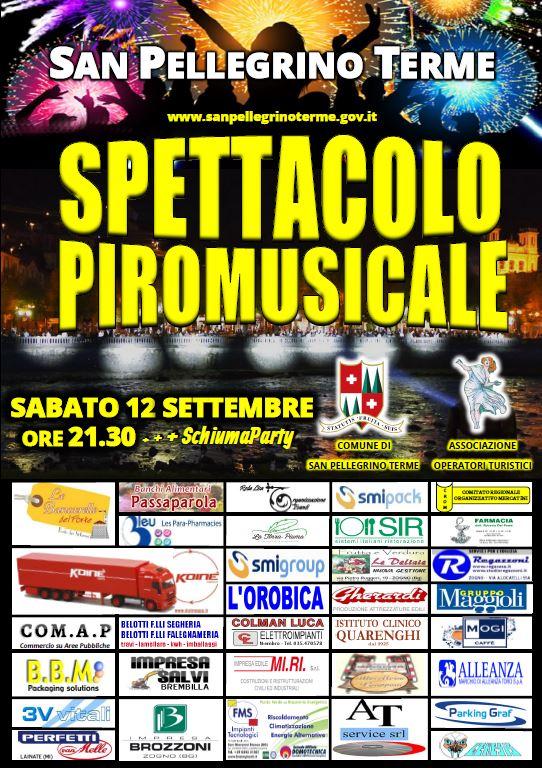 Spettacolo Piromusicale + Schiuma Party