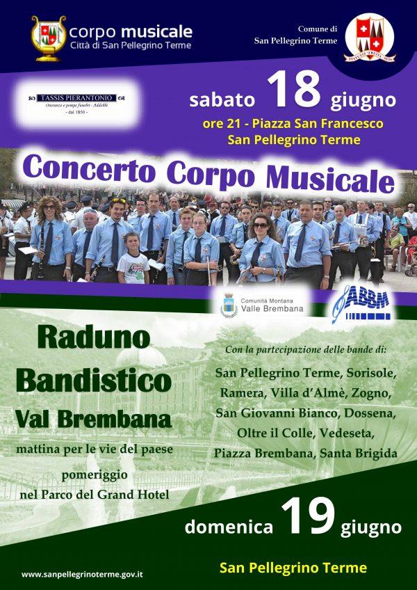 Concerto Corpo Musicale Città di San Pellegrino Terme
